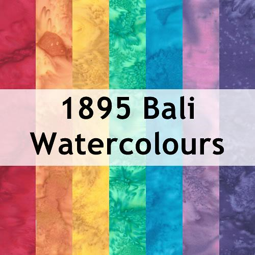 1895 Bali Watercolours