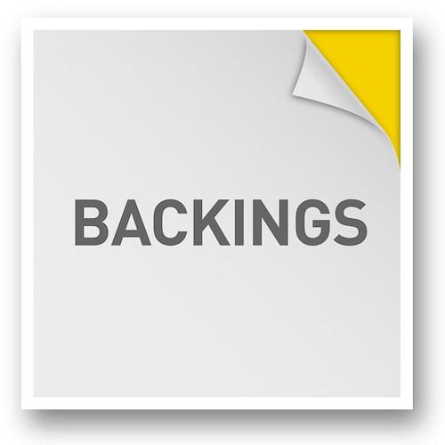 Backings