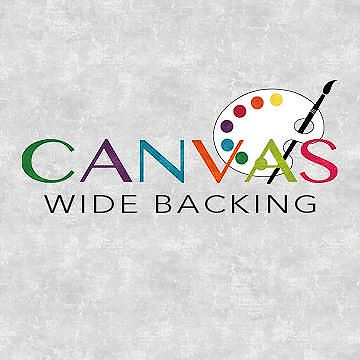 Canvas Wide Backing
