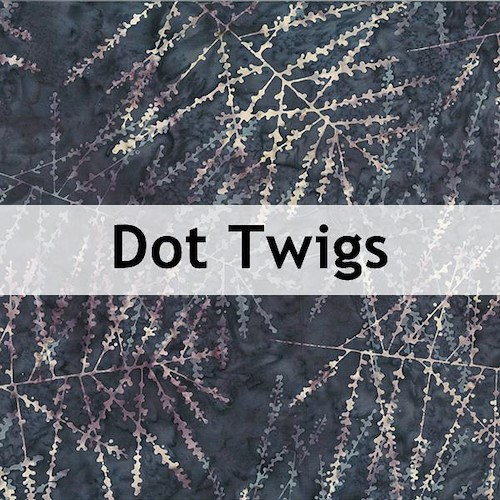 Dot Twigs Batik