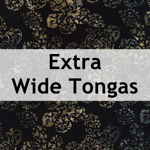Extra Wide Tongas
