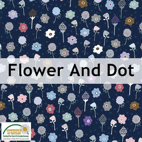 Flower And Dot
