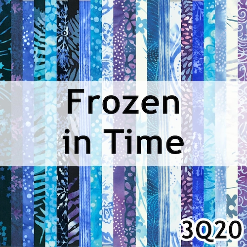 Frozen in Time Batik
