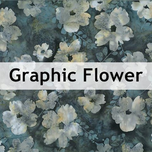 Graphic Flower Batik