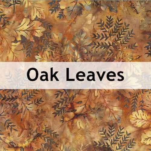 Oak Leaves Batik