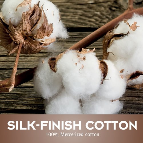 Silk-Finish Cotton