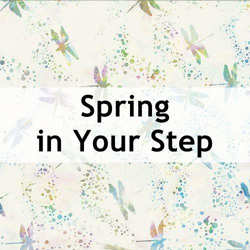 Spring in Your Step Batik