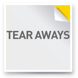 Tear Aways