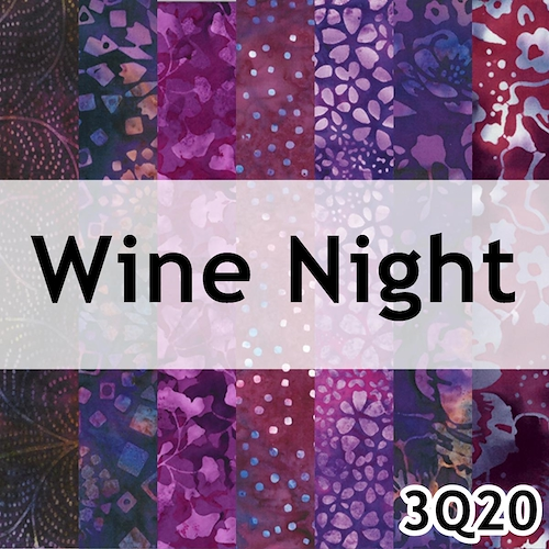 Wine Night Batik