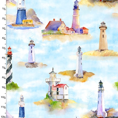 Blue - Lighthouses