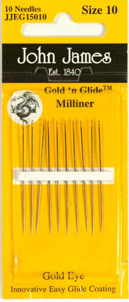 Gold'n Glide Milliner - Size 10