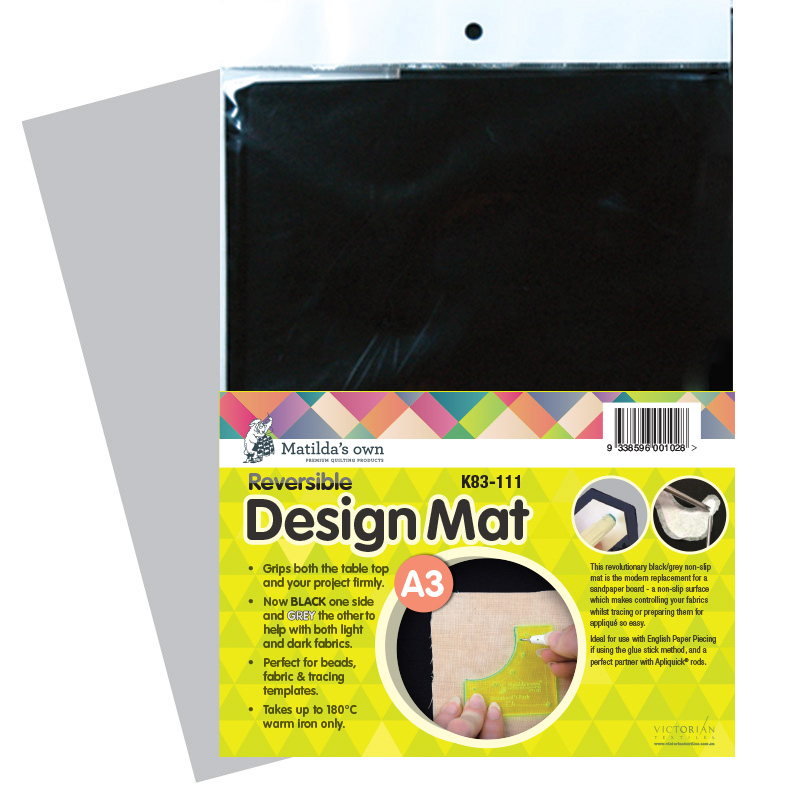 Design Mat Black - A3 size