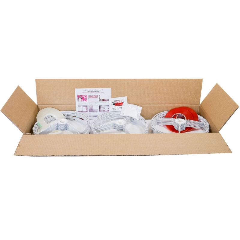 Circle Lampshade Manufacturing Packs 40cm (30 Units)