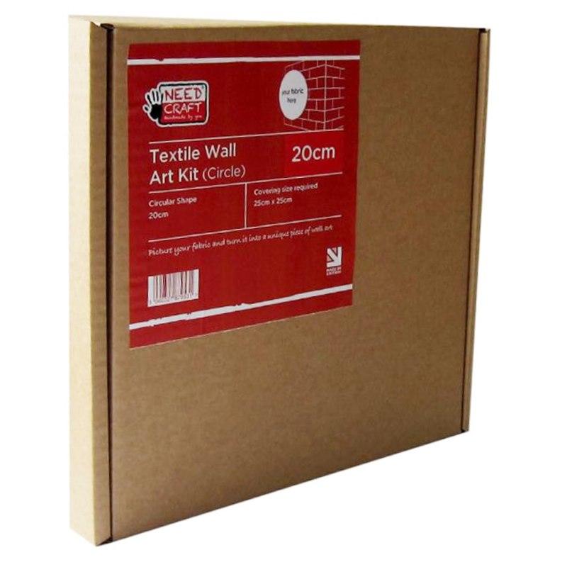 Textile Wall Art Kit Circle 20cm