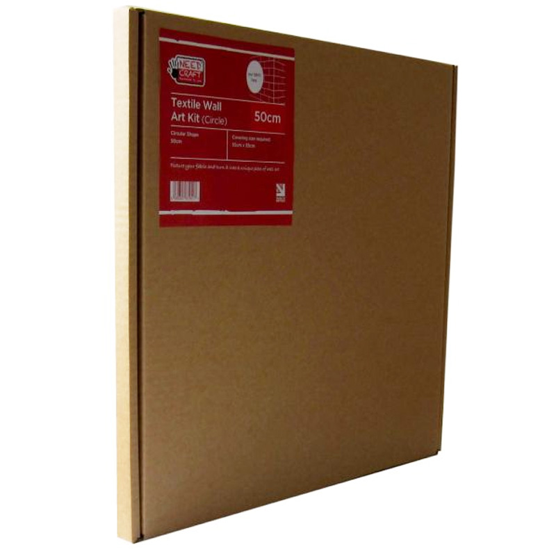 Textile Wall Art Kit Circle 50cm