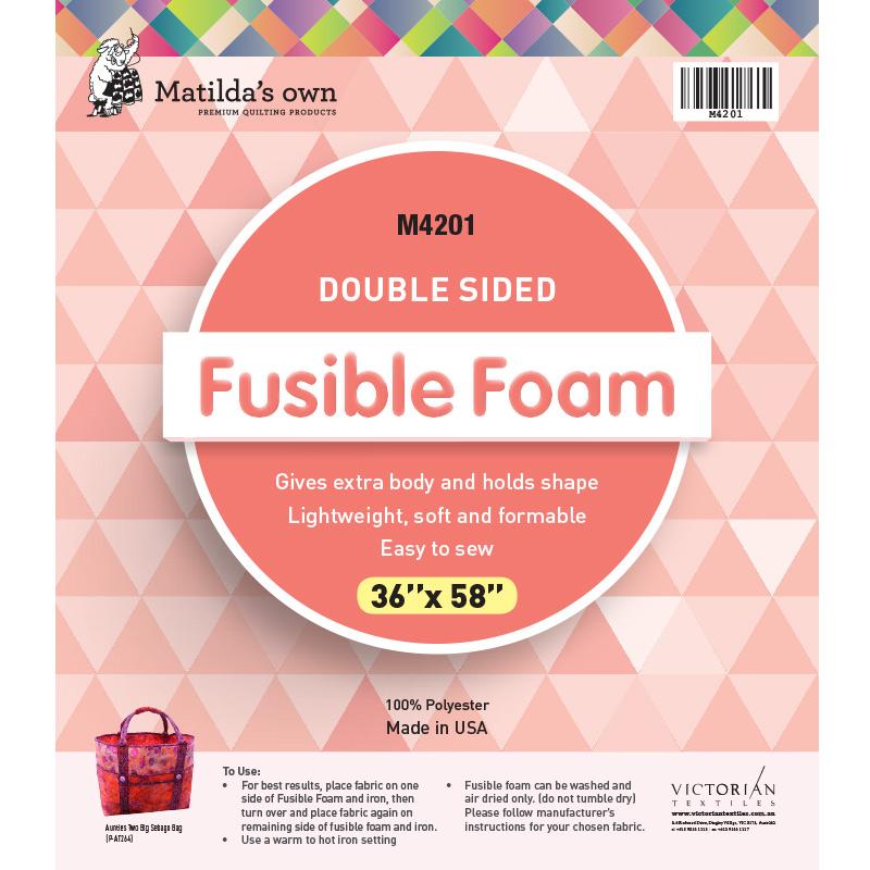 Double Sided Fusible Foam 36in x 58in