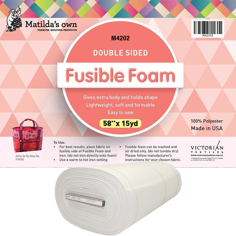 Double Sided Fusible Foam 58in x 15yd
