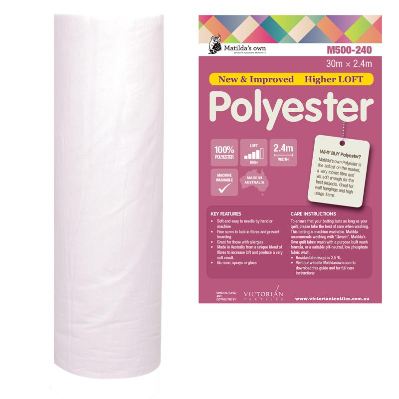 100% Poly 2.4m x 30m Roll
