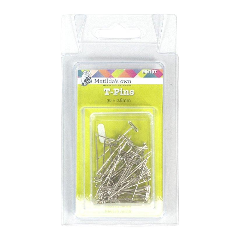 T-Pins - 30mm x 0.80mm