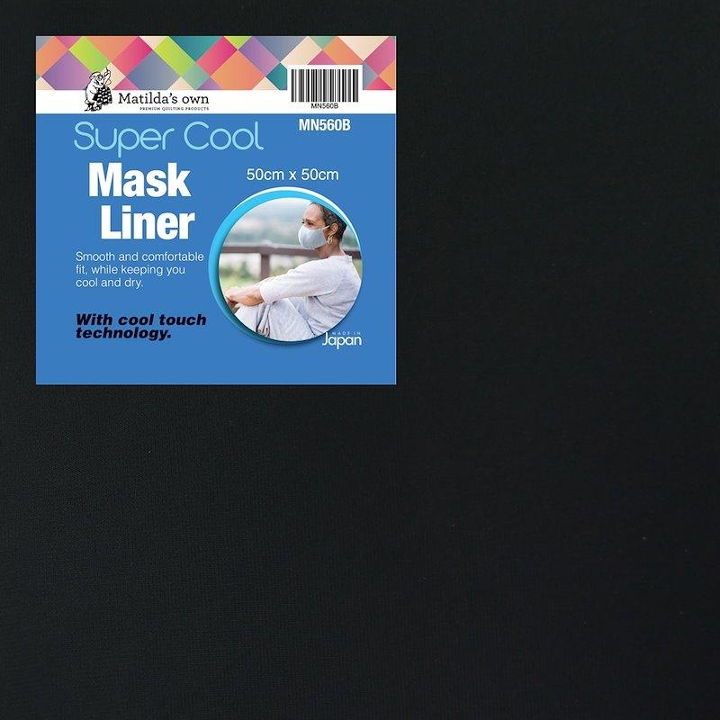 Mask Liner Super Cool - Black ( 50cm x 50cm )