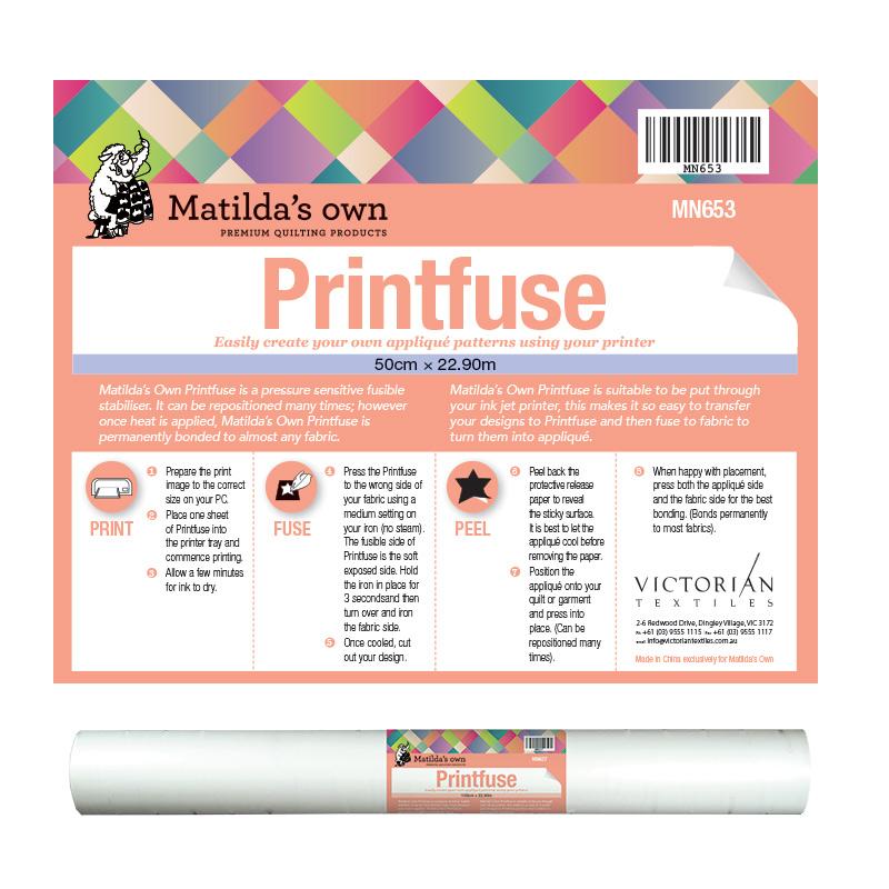 PrintFuse - 50cm x 22.9m Roll