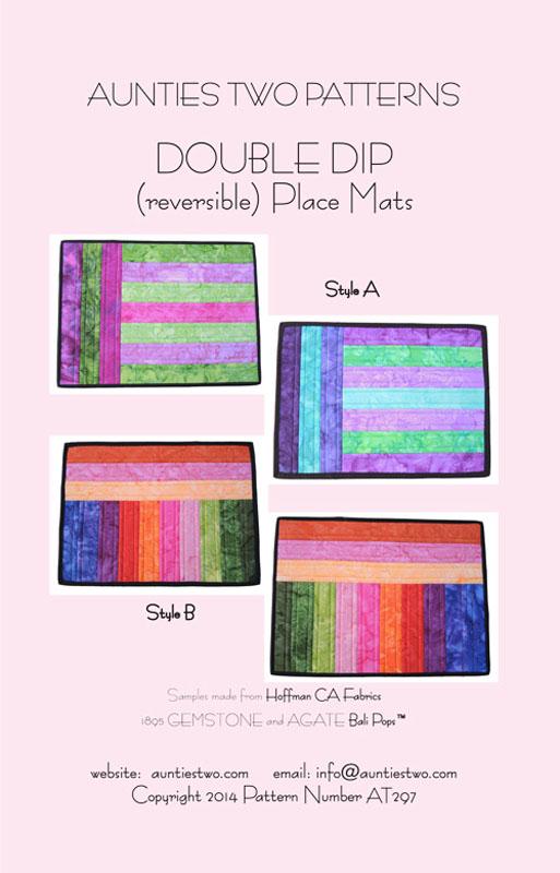 Double Dip place mats