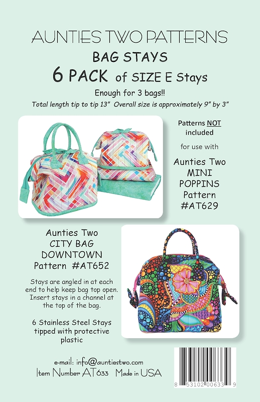 Bag Stays Size e (13in) 6 Pack