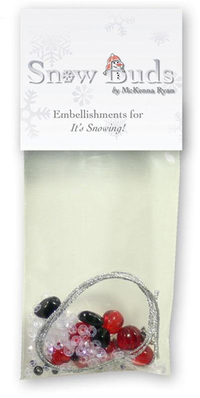 It's Snowing Embellishmnet Kit