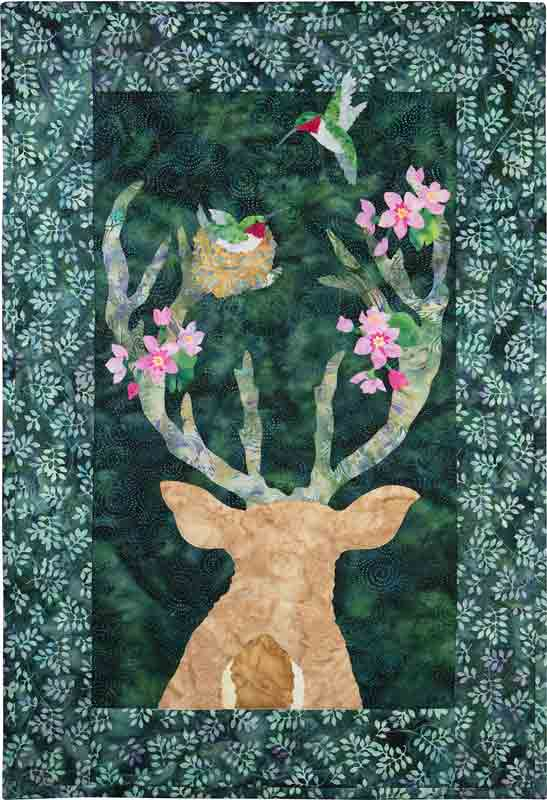 Bloom Where You're Planted (Deer)