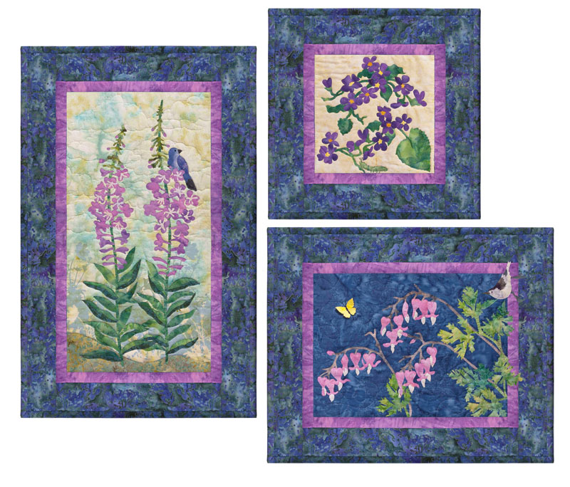 Fireweed-Early Blue Violets-Wild Bleeding Heart
