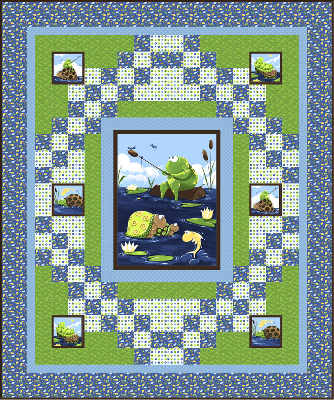 Fishing Buddies  Patterns for Susybee