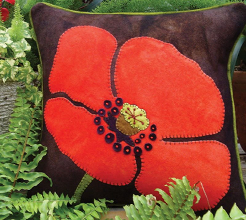 That's One Big Poppy Pillow