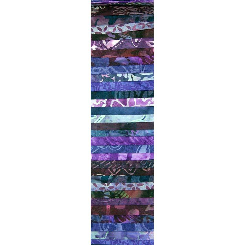 Rainbow Precut 2.5 inch #0025 Purple Reign