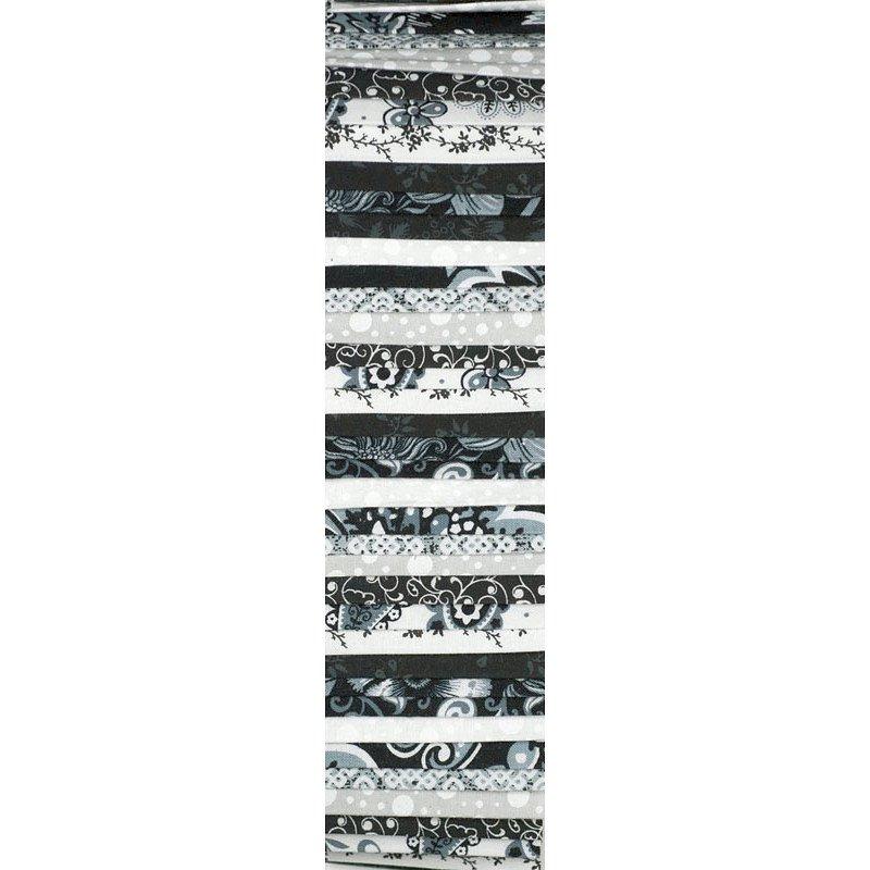 Rainbow Precut 2.5 inch #0039 Black/White/Grey