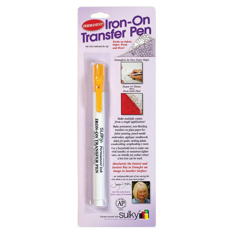 Sulky Iron On Transfer Pen - Yellow