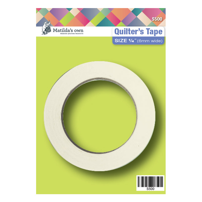 Quilters Tape 6mm (0.25in) x 50m