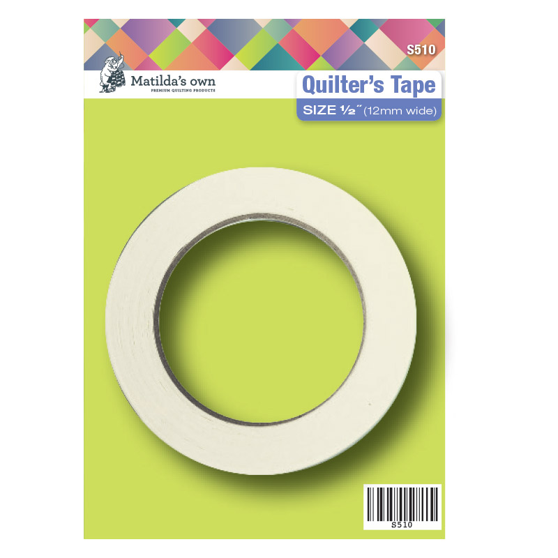 Quilters Tape 12mm (0.5in) x 50m