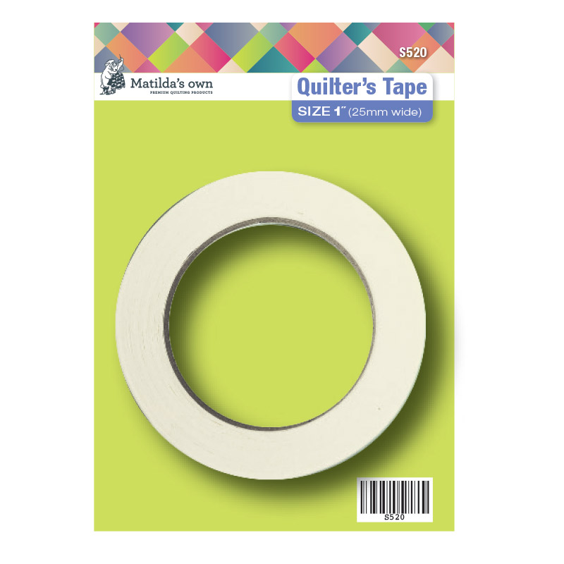 Quilters Tape 25mm (1in) 50m