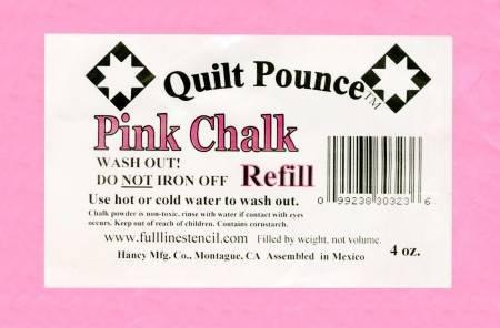 Pounce Refill Chalk Powder - Pink Chalk