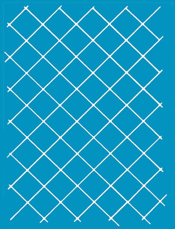 1in Grid Diagonal
