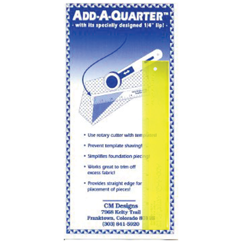 Add A Quarter 6in
