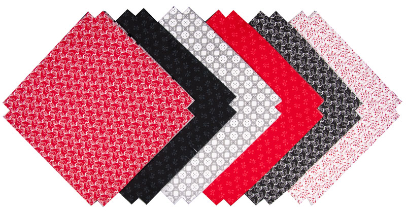 1M Black/White/Red (36 blocks)