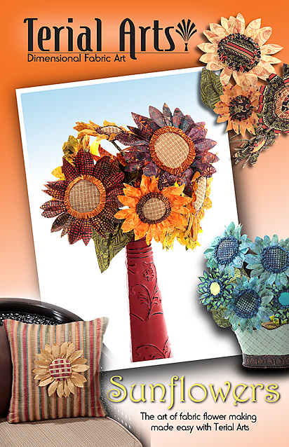 Sunflowers Pattern & Instructions - Terial Arts.