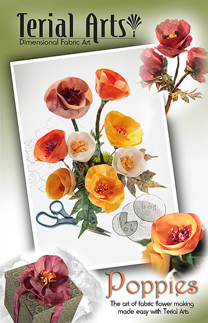 Poppies Pattern & Instructions - Terial Arts.