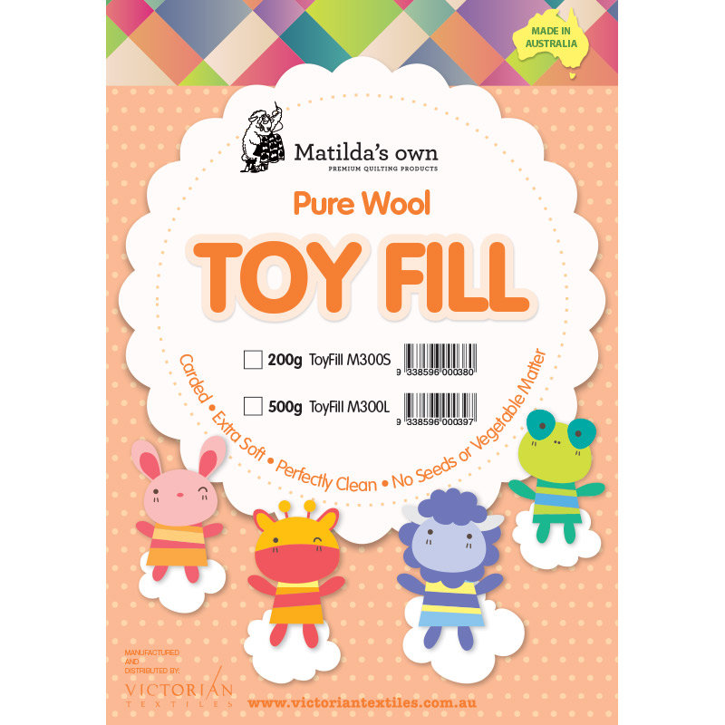 100% Wool Toy Fill 500g