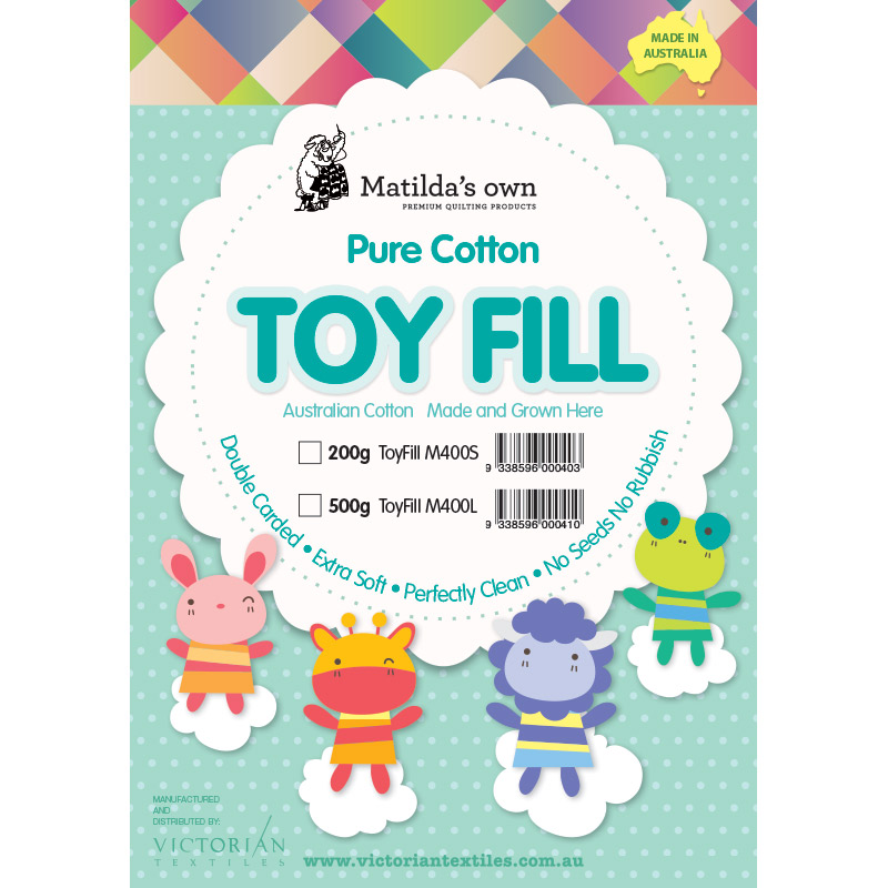 100% Cotton Toy Fill 500g