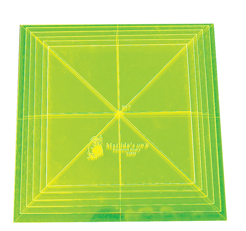 Large Square Set II - 3in to 4.25in