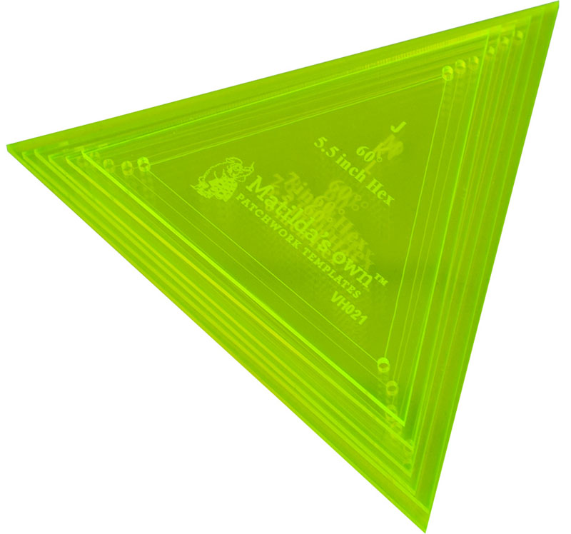 Large Triangle Set - 3.25in to 4.5in