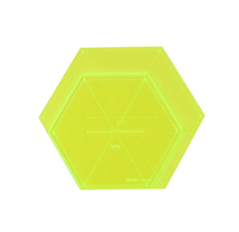 7.5in & 9.5in Hexagon Set