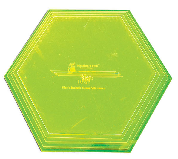 Extra Large Hexagon Set - 8.5in to 10.5in